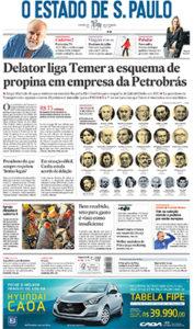 BROESP11: ESTADO-PRIMEIRA-PAGINAS  [SP_A] ... 16/06/16