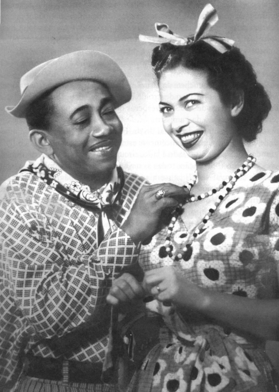 Jackson e Almira Castilho, sua mulher e parceira nos palcos (Foto Arquivo - Estadão)