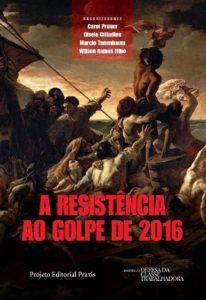 capa do livro resistência ao golpe