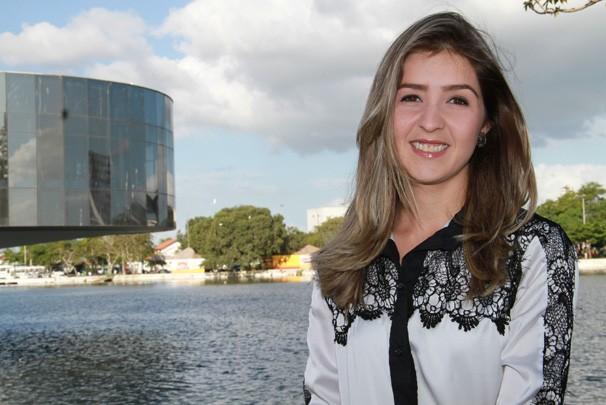 Larissa Fernandes, vítima da violência em Campina Grande (Foto: redeglobo.globo.com)