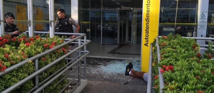 No BB-Bessa, um corpo estendido no chão (Foto: Jornal da Paraíba)