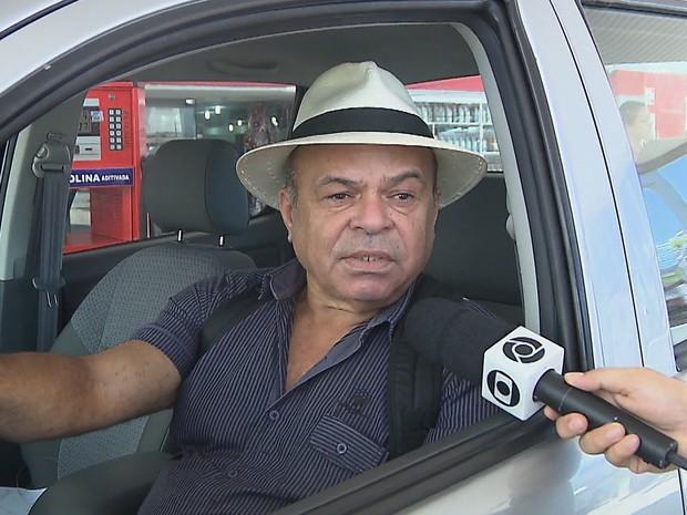 Marcone Morais: ameaças e carro metralhado há seis meses (Foto: reprodução da TV Cabo Branco)