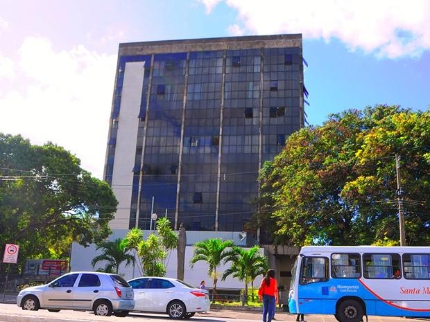 Antigo prédio do Paraiban, na Epitácio Pessoa (Foto: José Marques - SecomPB)