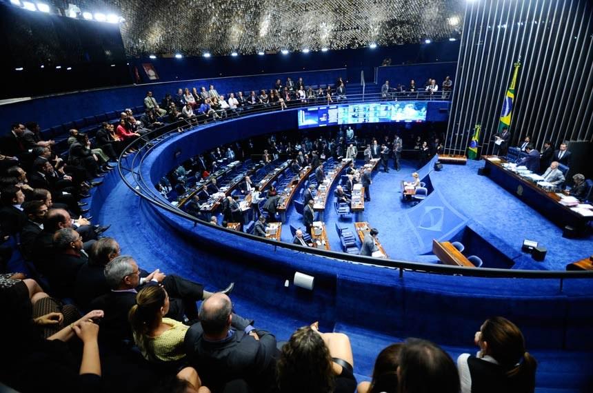 Plenário do Senado Federal (Foto: Marcos Oliveira/Agência Senado)