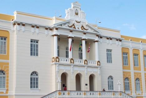 Tribunal de Justiça: 'imprensadão' com feriado revogado (Foto: TJPB)