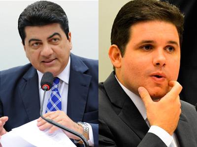 Manoel Júnior e Hugo Motta (Fotomontagem: oblogdepianco.com.br)