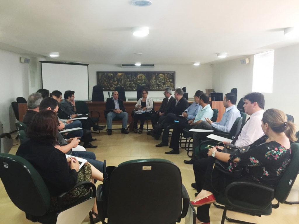 Reunião realizada ontem no CRM-PB, em João Pessoa (Foto: Formato Assessoria de  Comunicação)
