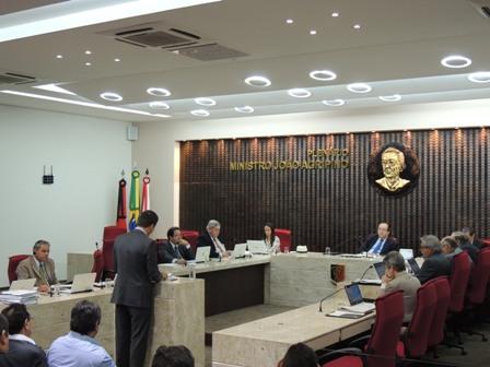 Sessões do TCE são transmitidas ao vivo pela Internet (Foto: Ascom/TCE)