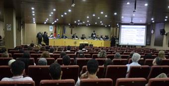 Sessão plenária do Eleitoral (Foto: Arquivo/TRE-PB)