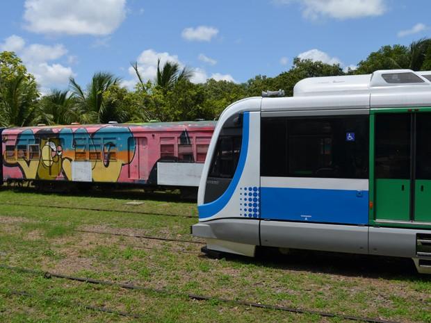 Arrastões no trem acontecem pelo menos três vezes por semana (Foto: G1 Paraíba)