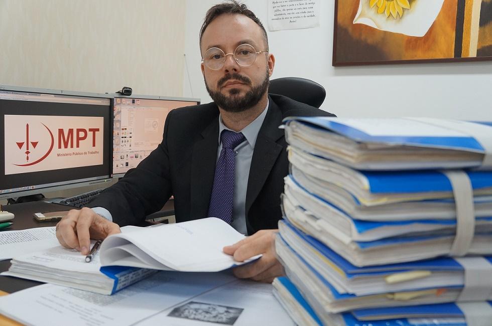Procurador Eduardo Varandas (Foto: Ascom/MPT-PB)