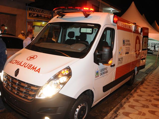 Ambulâncias do próprio Estado também serão fiscalizadas (Foto: Secom-PB)