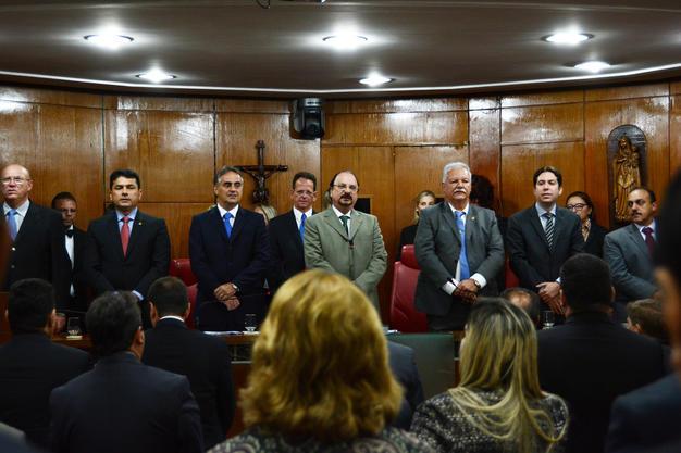 Câmara da Capital em sessão solene (Foto: Arquivo/Jornal da Paraíba)