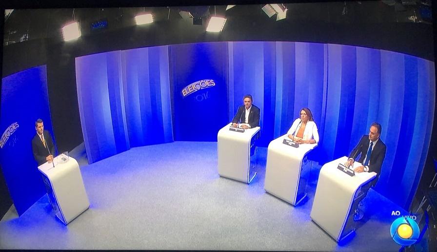 Debate na TV Cabo Branco: promessas e troca de acusações