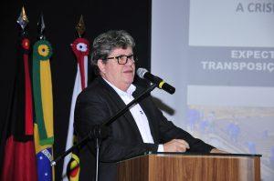 João Azevedo, secretário estadual de Recursos Hídricos (Foto: Ascom/TCE)
