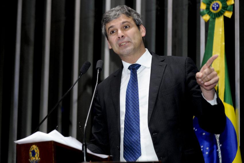 O senador Lindbergh Farias (Foto: Waldemir Barreto/Agência Senado)