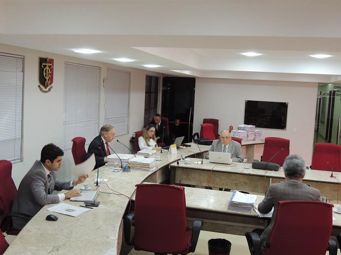 Reunião da 2ª Câmara do TCE (Foto: Ascom/TCE-PB)