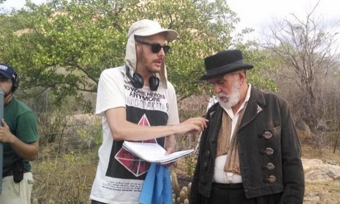 Guilherme Weber e Lima Duarte (Foto: Arquivo/Portal Catingueira)