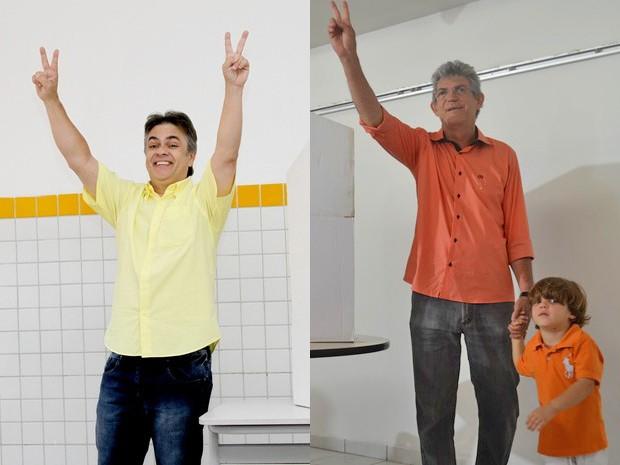 Cássio 'ganhou' nos dez maiores e Ricardo, nos intermediários (Foto: Arquivo/G1)