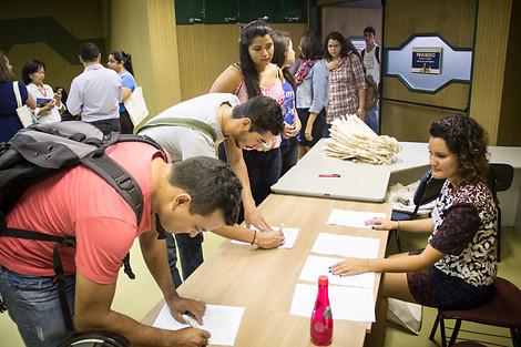 Em 2015, 'Democracia Virtual' foi tema de evento em Campo Grande (Foto: FKA)