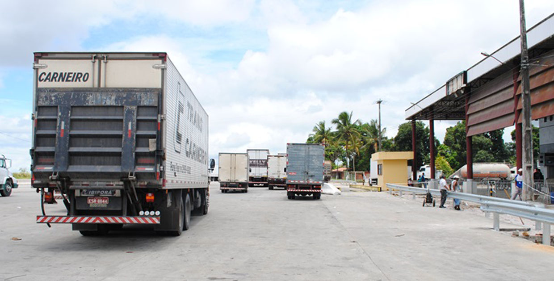 Posto de Cruz das Almas virou cenário de crime (Foto: Arquivo/SecomPB)