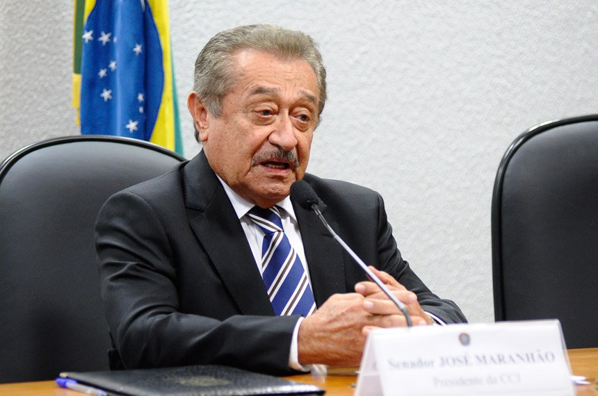 Senador José Maranhão, do PMDB (Foto: Senado)