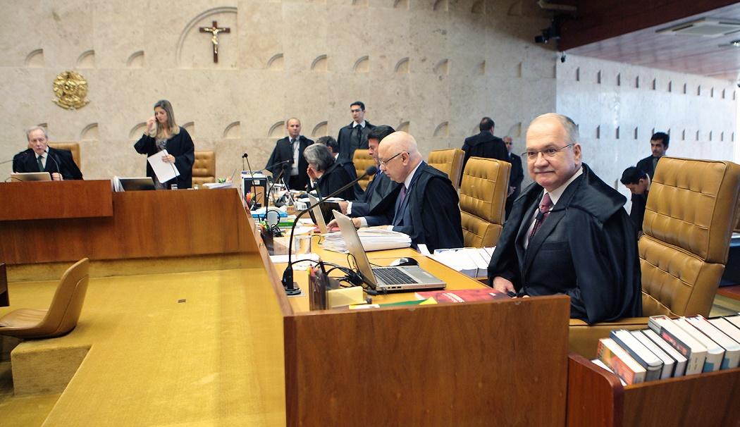 Fachin, à direita, decidiu levar o caso da Paraíba à deliberação do Supremo (Foto: STF)