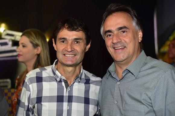 Romero e Cartaxo: os grandes vitoriosos. Dessa vez, sem grandes eleitores (Foto: Arquivo/Pensamento Múltiplo)