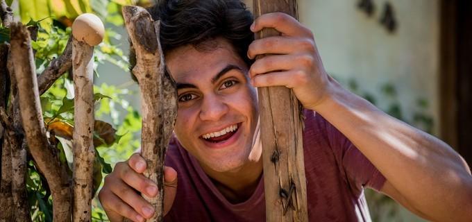 Lucas Veloso (Foto: CAIUÁ FRANCO/TV GLOBO)