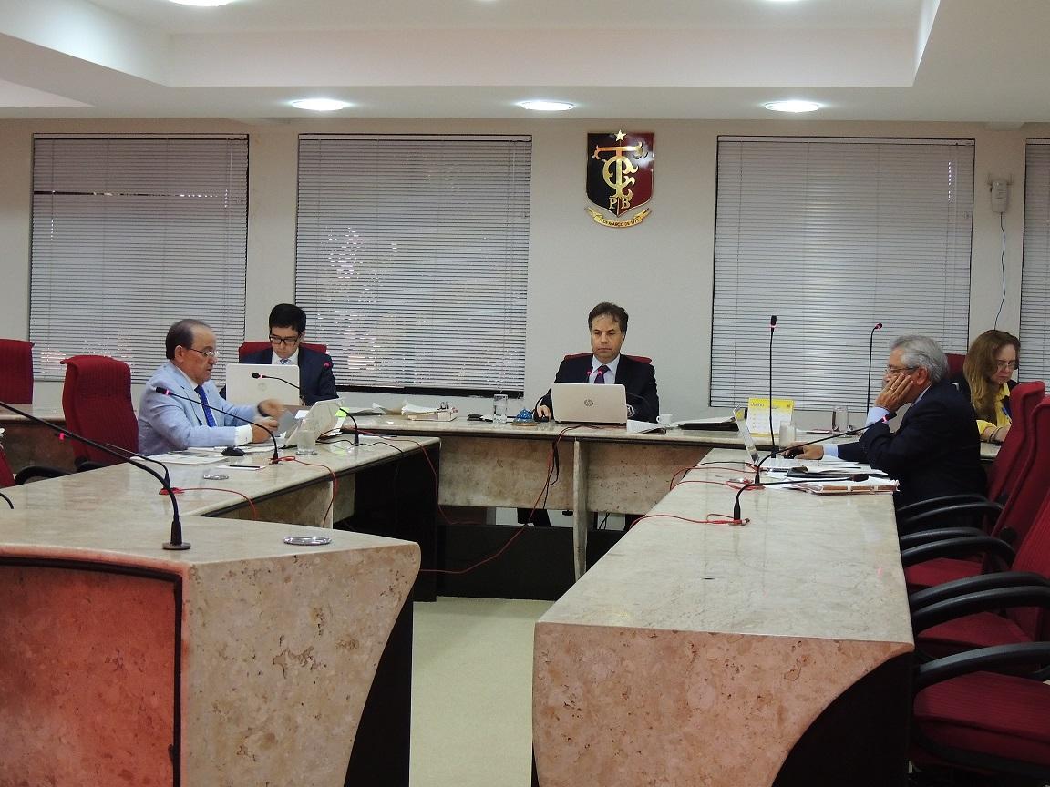 Reunião da 1ª Câmara (Foto: Arquivo/TCEPB)