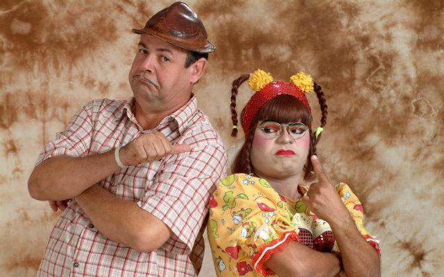 """Zé Lesin e Cinderela, """"casados"""" há oito anos (Foto: Divulgação)"""