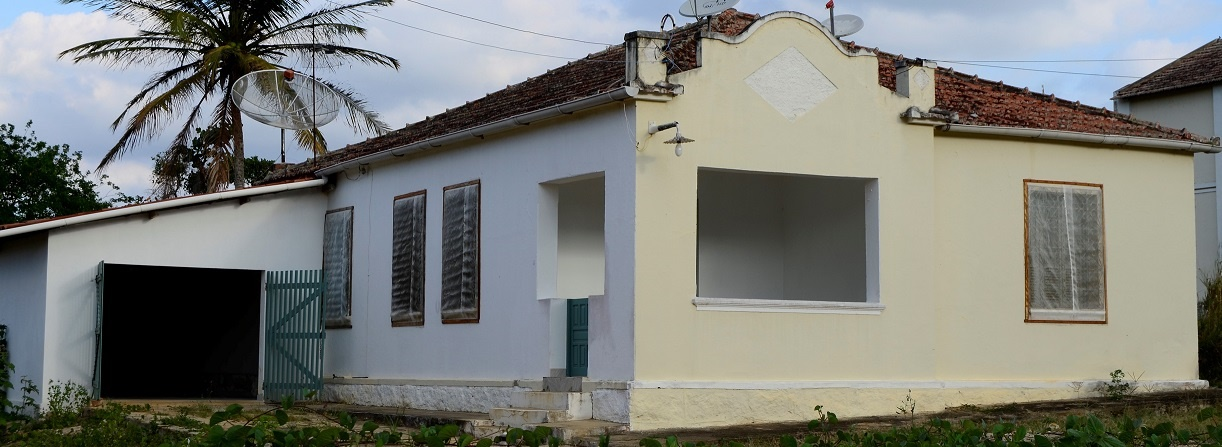 A Casa da Escola, no Campus da UFPB em Bananeiras