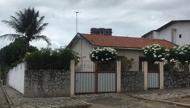 Casa no Boa Vista, hoje Bairro dos Ipês, em João Pessoa
