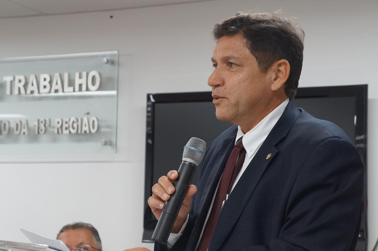Paulo Germano, procurador-chefe do MPT-PB (Foto: Cândido Nóbrega)