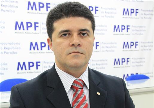 Rodolfo Alves, procurador-chefe do MPF-PB (Foto: Ascom/PRPB)