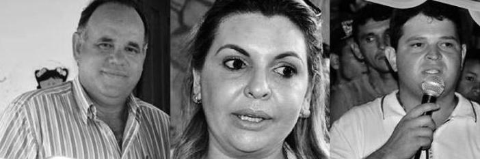 Renê Caroca, Ilana Motta e José William foram presos em 9 de setembro deste ano pela PF (Fotomontagem: Polêmica Paraíba)
