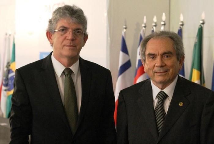 Ricardo Coutinho e Raimundo Lira (Foto: Assessoria Parlamentar)